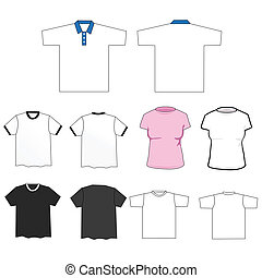 Set of tee shirts