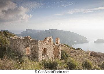 Ruins on Formentor, Mallorca, Spain