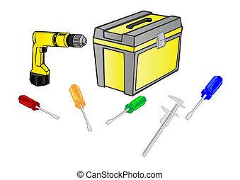 Vector illustration  tool
