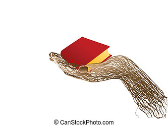Vector illustration the  book