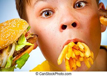 jadło, mocny, dziecko