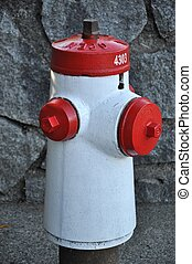 Close-up fire hydrant