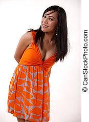 Young asian vietnamese fashionable woman