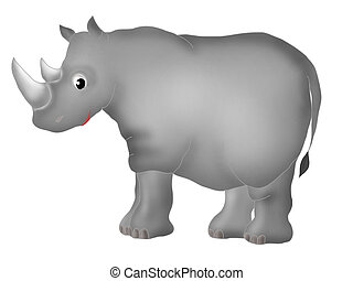 Rhinoceros - Fauna - animals