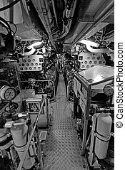Submarine Interior, Sydney - War Submarine Interior, Sydney,...