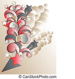 vector grunge background - vector modern grunge background...
