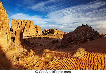 Sahara Desert, Tassili NAjjer, Algeria