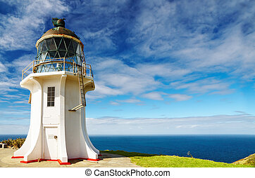Cape Reinga Lighthouse, New Zealand - Cape Reinga...