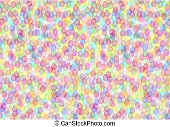 easter background - colorful easter background out of little...