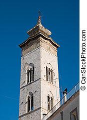 Collegiate church St Maria della Colonna Rutigliano Apulia...