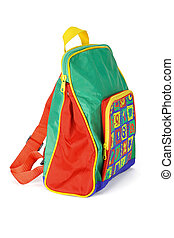 Preschooler backpack - Colorful preschooler backpack...
