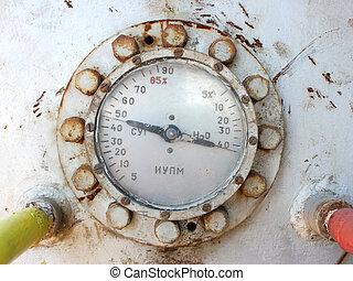 pressione, industriale, metro