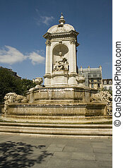 Fountain at Saint Sulpice