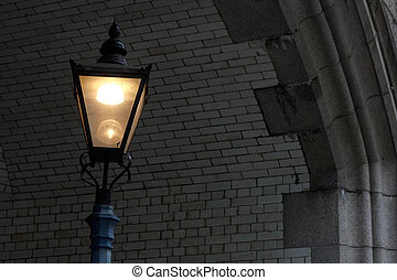 Lamp post - An old lamp post in London