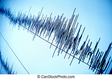 sound wave - sound audio wave abstract background