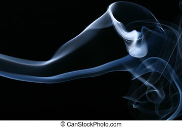 smoke abstract background macro close up
