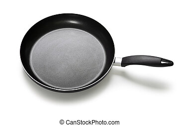 Frying pan or griddle - Kitchen utensil food cooking frying...