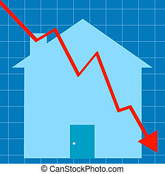 crashing housing market