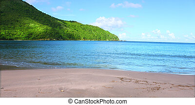 British Virgin Islands - A beautiful sunny day at Brewers...