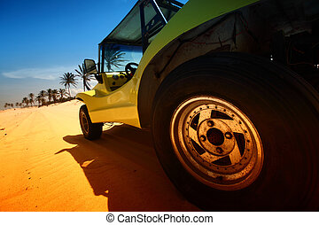 calesa, desierto
