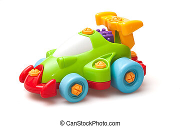 toy - childish toy racing car, automobile
