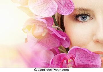 beauty eye - the macro image of the beauty eye