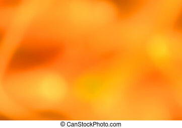 Vivid Orange Abstract Background Series - Vivid Orange...