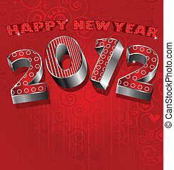 A new years card for 2012
