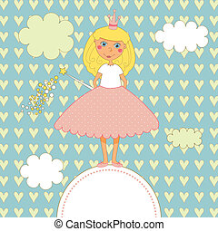Sweet Little Princess Card