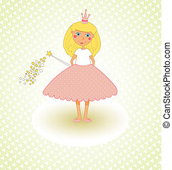 Little Princess Card - Little Princess Congratulations Card