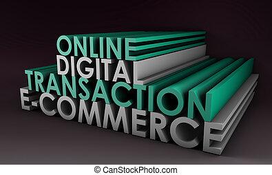 Online Digital Transaction