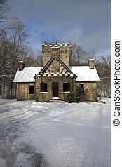 Squires Castle in Ohio - Squires Castle in Willoughby, Ohio...