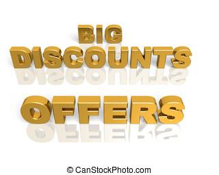 big discounts