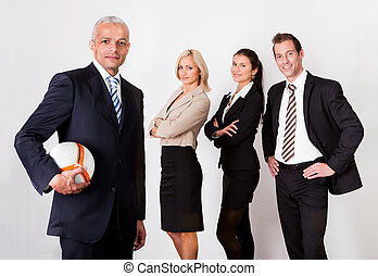 Strong competitive business team - Strong professional...