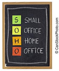 home or virtual office concept - virtual office concept -...
