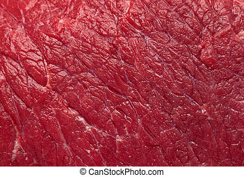 Beef meat background - Beef raw red meat closeup background