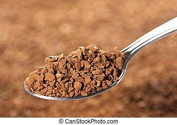 Grainy coffee