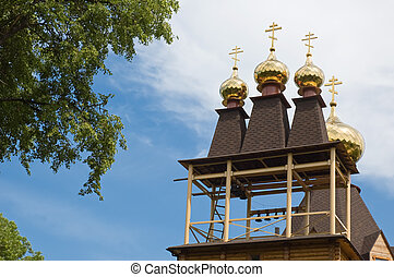 country church - russian country church