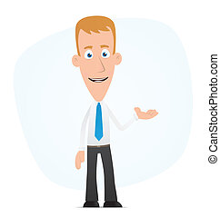 Presentation - Illustration of a cartoon cute character for...