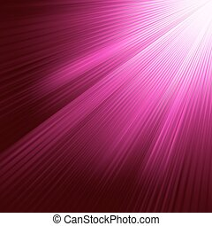 Purple luminous rays. EPS 8