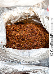 tobacco 87 - median grade tobacco in sacks forsale at the...