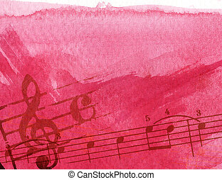 grunge melody - Abstract grunge melody textures and...