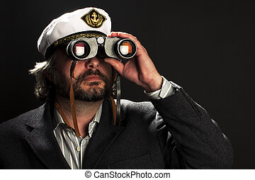 seaman - Captain of the ocean ship