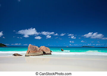 Anse Lazio beach in Seychelles - Anse Lazio the best beach...
