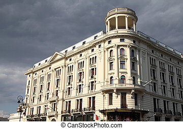 Warsaw, Poland - historic Bristol Hotel building, probably...