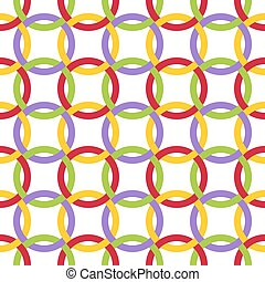 Twisted circles.