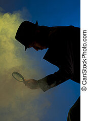 Private Detective - Private detective searching for...