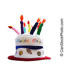 Happy Birthday Hat - Funny Happy Birthday Hat with candles...