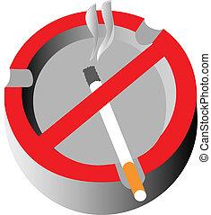 ashtray no-smoke