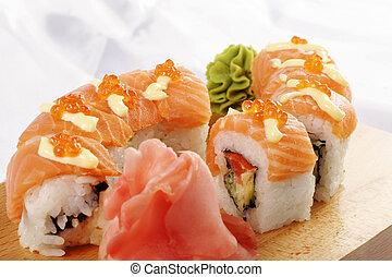 motivo,  Sushi,  Futomaki